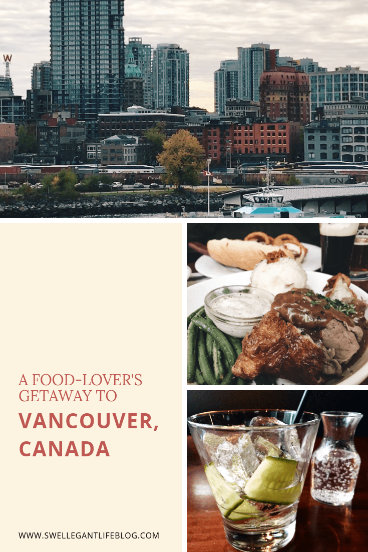 A food-lover's getaway to Vancouver, Canada